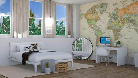 bedroom travel - by irisrmks