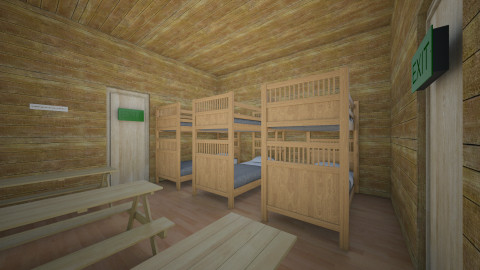 At Camps Cabin - Rustic - by MLG2014