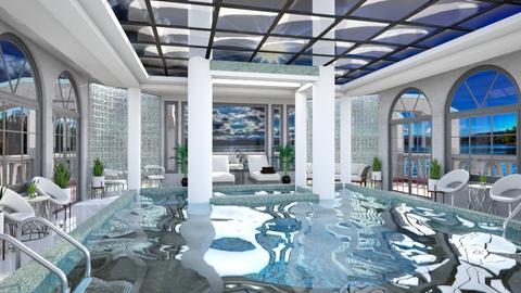 Hotel Pool  - by Amyz625
