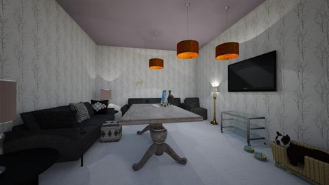 pretty  - Living room  - by rey_rosel