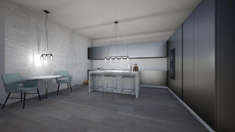 house with bestie - Kitchen  - by lupeeuh