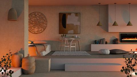 minimal bed - Modern - Bedroom  - by RimaNina