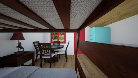 Tiny Cabin 5 - Bedroom  - by SammyJPili