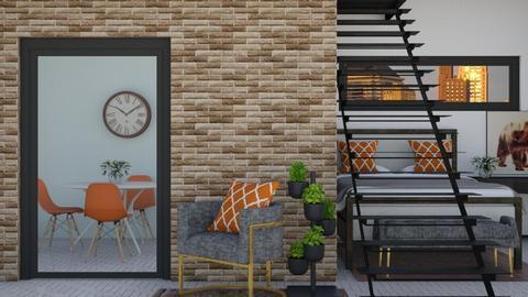 Brick Studio Apartment - by BubbleSloth