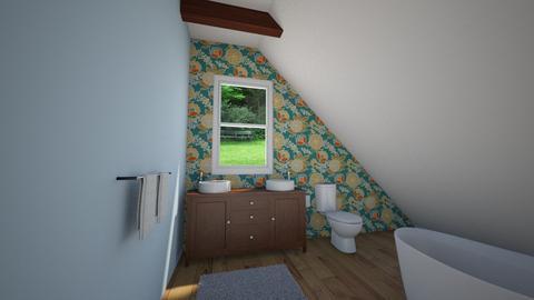 Attic Bathroom C - Bathroom - by Elisheva2