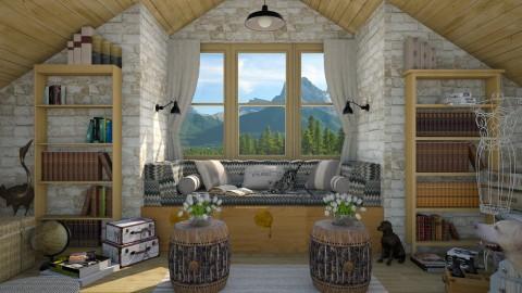 Design 297 Attic Nook - Living room - by Daisy320