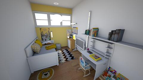 Jamies yellow fantasy - Kids room  - by aguilardaruby