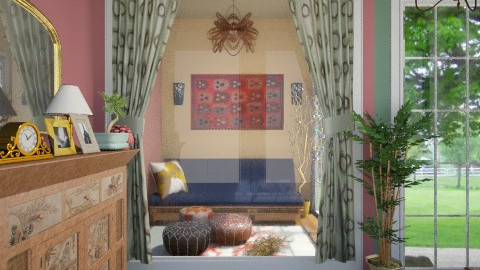 brief antqua - Retro - Living room  - by Veny Mully