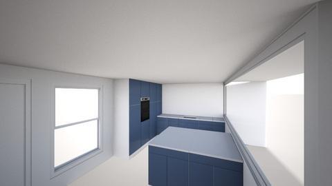 Flat v1 - Kitchen  - by Bummer7