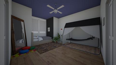 indie room - Retro - Bedroom  - by LaurenDollyhite