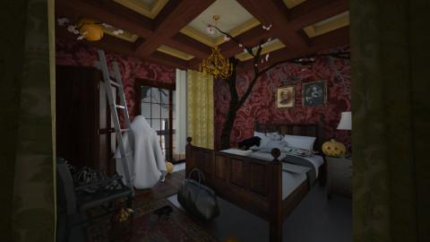 Haunted Bedroom - Bedroom - by Vangjel