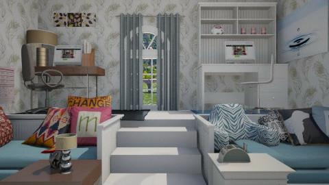 22 - Bedroom  - by sketchbookdesign