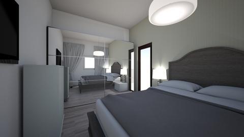 dormitor - Bedroom  - by alissty