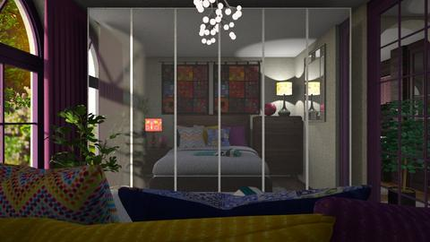 DR 57 - Eclectic - Bedroom  - by Dragana Randjelovic