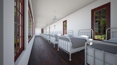 St Joseph Sanatorium Ward - Bedroom  - by SammyJPili