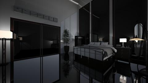 Modern Lamp Bedroom - Bedroom  - by BearBear02