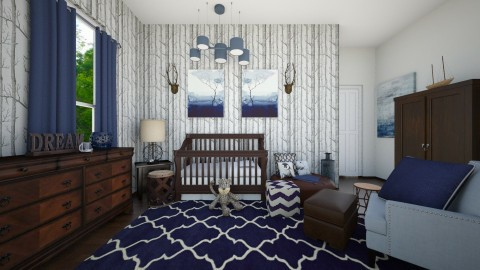 Navy Baby - Kids room - by CreativeCE