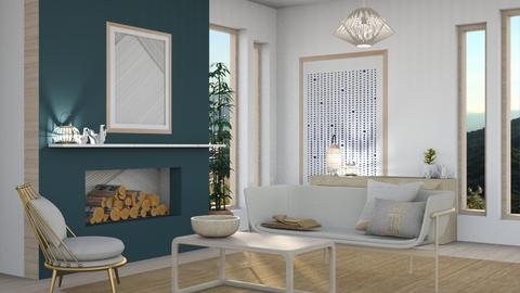 Japandi_Contest_esko123 - Living room  - by Esko123