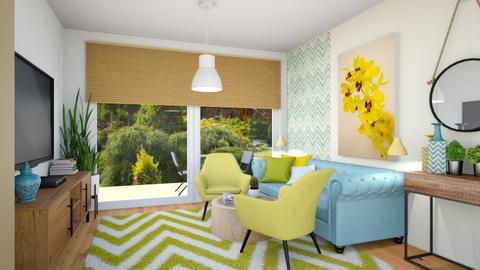 segmentA living - Living room - by ewcia3666