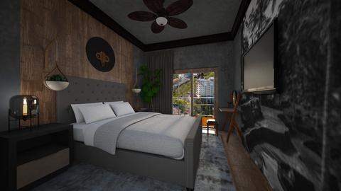 12 - Bedroom  - by yulamalina