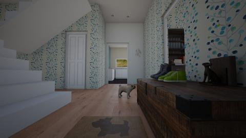 hallway_doglovers - by muffinandpeach