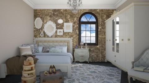 Vintage Touch - Vintage - Bedroom  - by DeborahArmelin