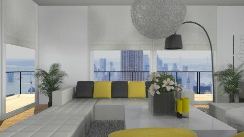 Livingroom014 - Modern - Living room  - by Ivana J