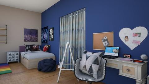 Quarto da Lara  - Bedroom  - by Lara Giulia