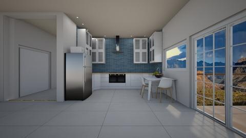 modern apartment - by rlefk