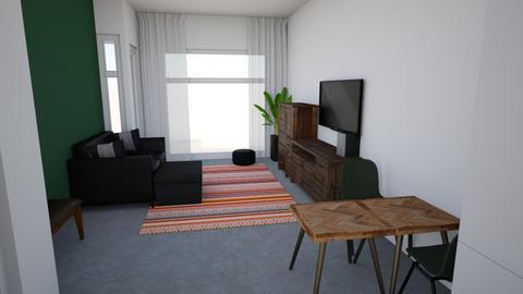 Brandslangstraat Living 2 - Eclectic - Living room  - by Patrickvh3
