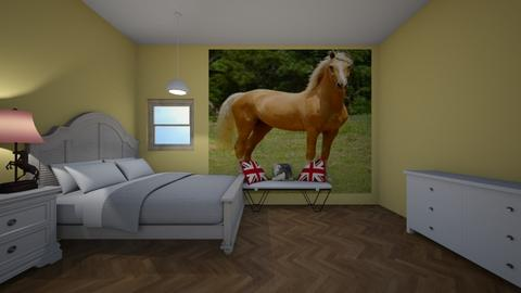 Love for palominos  - Country - Bedroom  - by deleted_1607295715_Horses are my th