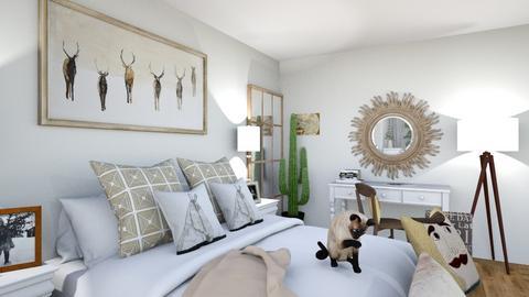 Sypialnia - Classic - Bedroom  - by w_ziarkiewicz