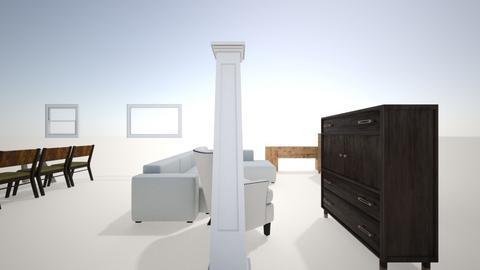 Oenske 1 - Living room  - by bamc