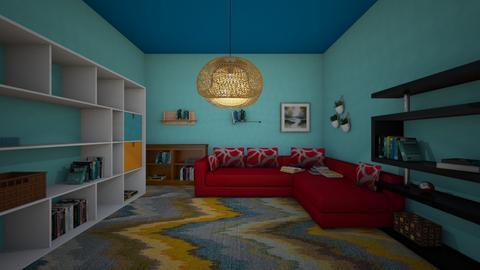 book room - by dunlopgirl