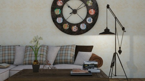 vintage close up  - Rustic - Living room  - by jjannnii