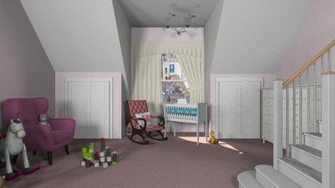mary's pink room - Kids room  - by ok sosa