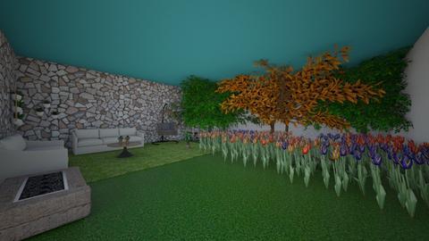 mi jardin - Garden  - by ataulfa100