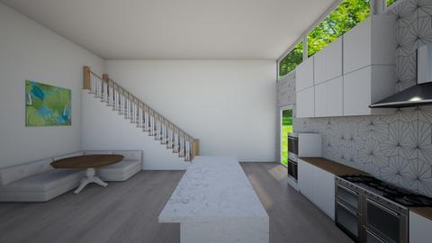 kitchen stairs - by ckolessar