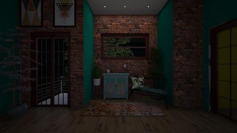 Hallway - by Elena Heimark