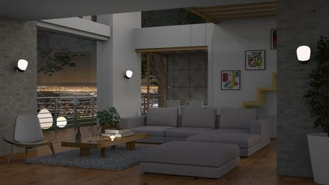 LA Residence - Modern - Living room  - by finearch