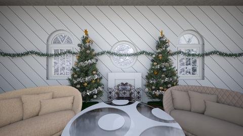 Christmas living room - Living room  - by IToufexis