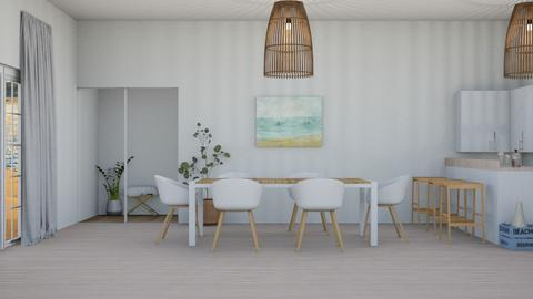 Beach house IRR_CO - Dining room  - by IcyRosyRake2
