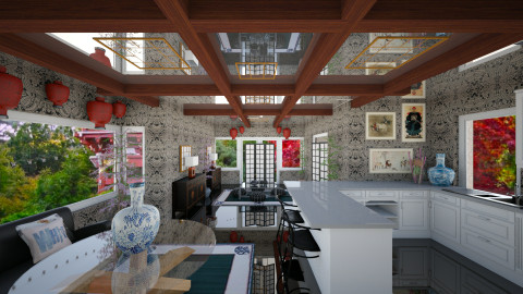 Asian Living - Living room - by xx_cordelia_xx