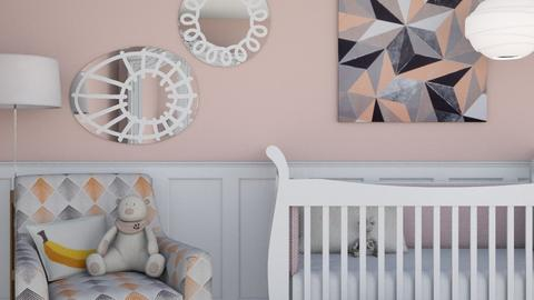 Pink Nursery - Classic - Kids room  - by HenkRetro1960