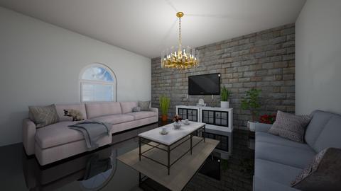 Cozy Living Room - Living room - by AngelicaZhelez