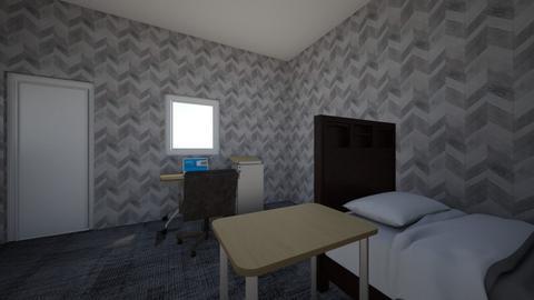 cuarto de alguien  - Bedroom  - by Adriancastillosanchez