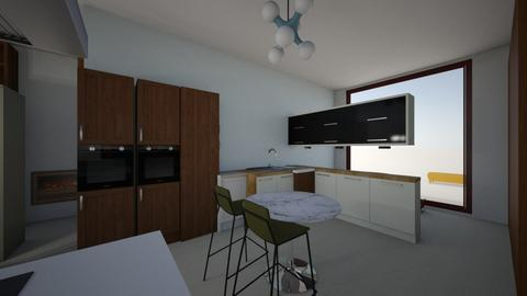 keuken _ nieuw_6_eettuin - Kitchen  - by iene