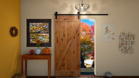 Autumn Door - by JoJo Y