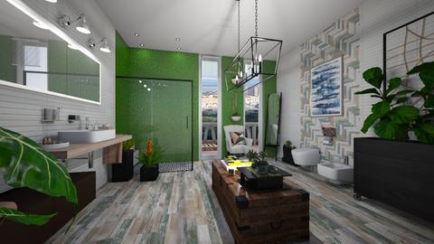 Urban Jungle - Eclectic - Bathroom  - by giulygi
