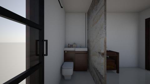 CLAU baie - Bathroom  - by Claudia Ilisan